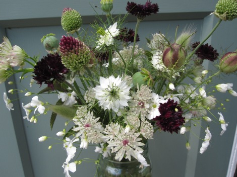 Arrangement of Flowers from the Cutting Patch