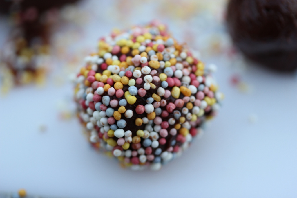 Chocolate Truffle with Sprinkles