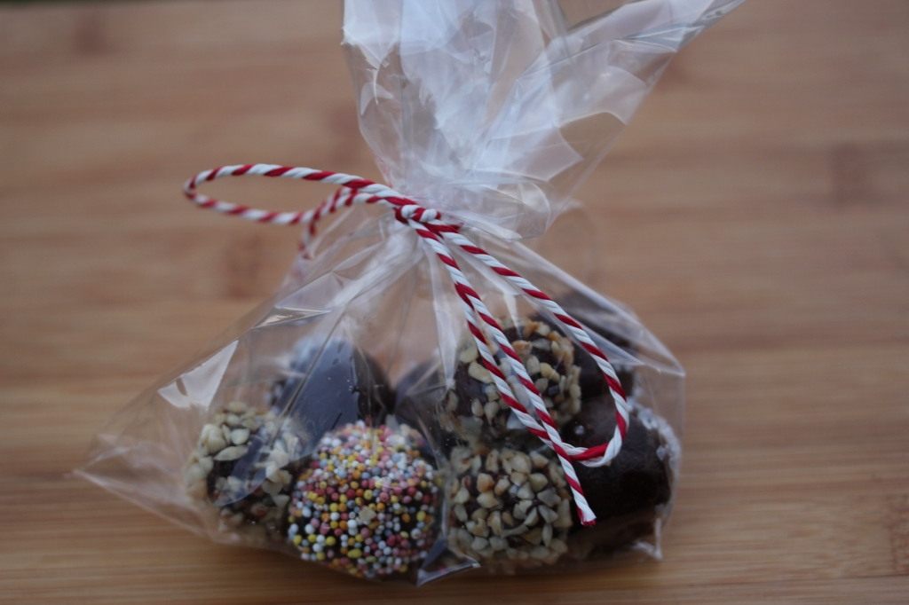 Chocolate Truffles as a Christmas Gift