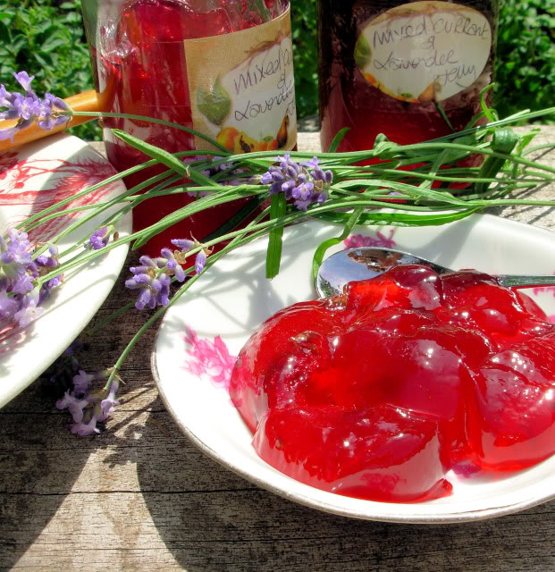 Mixed Currant and Lavender Jelly - Photo Five