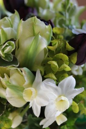 Spring bouquet close-up