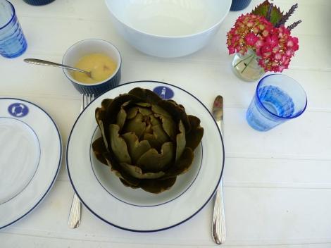 Artichoke for dinner