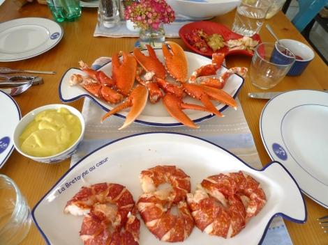 Lobster for dinner