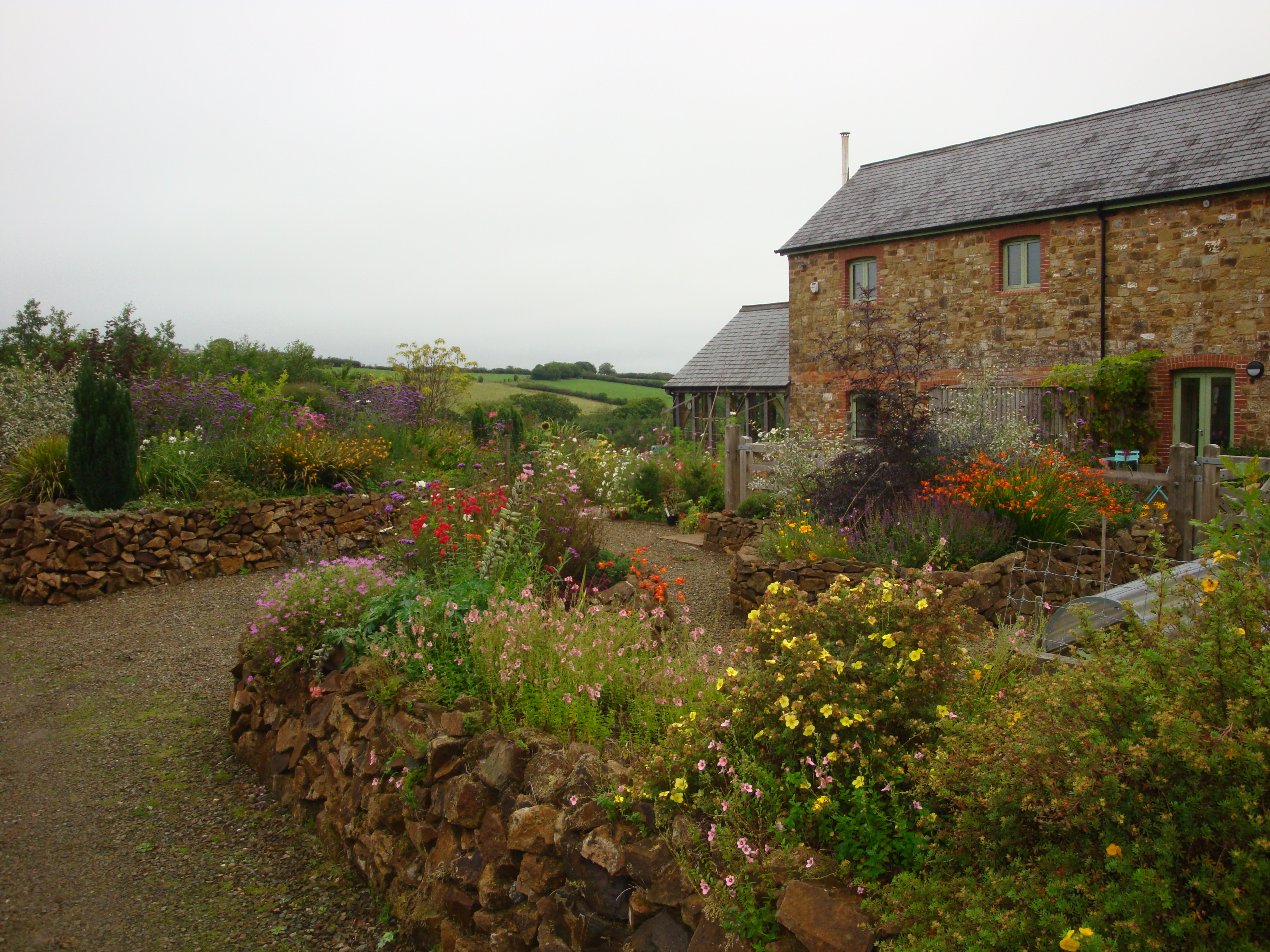 The gardens near Halwill Junction
