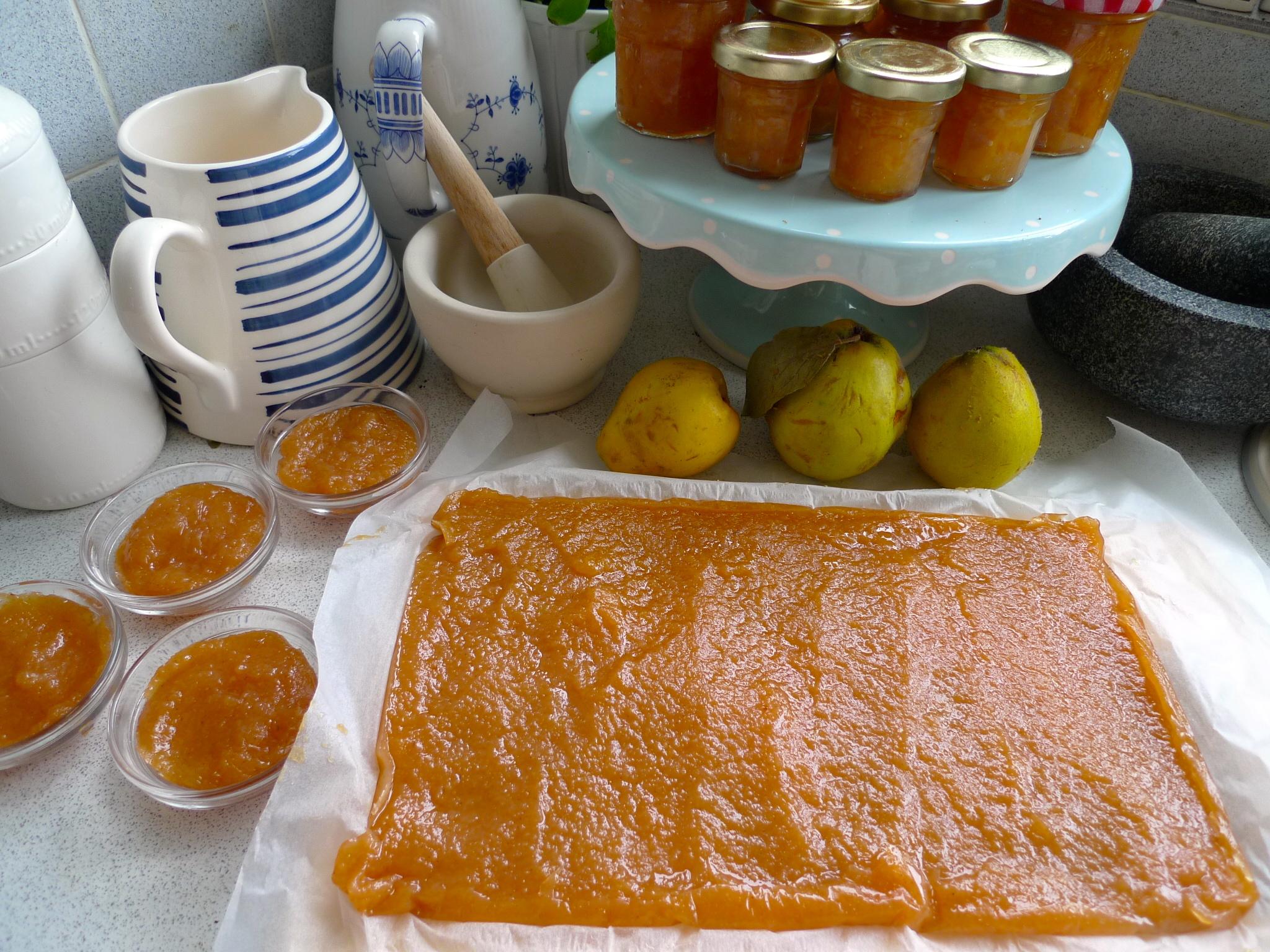 Quince jam and Membrillo