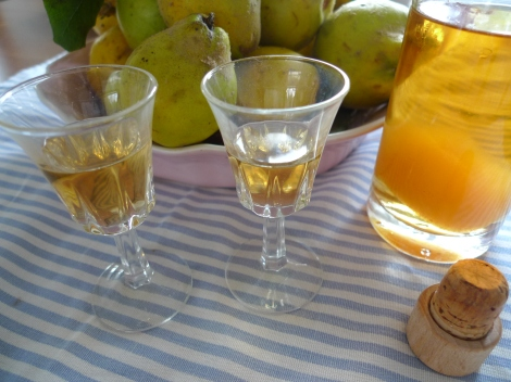 Quince Ratafia - a delectable after-dinner drink