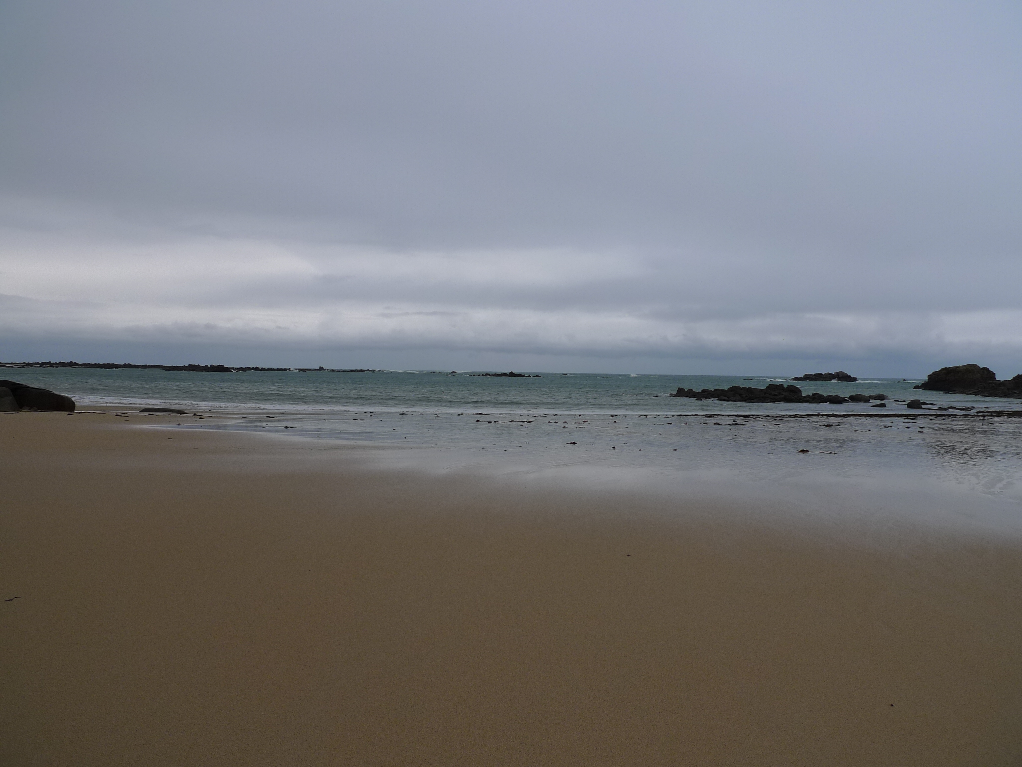 Breton Beach on New Year's Eve