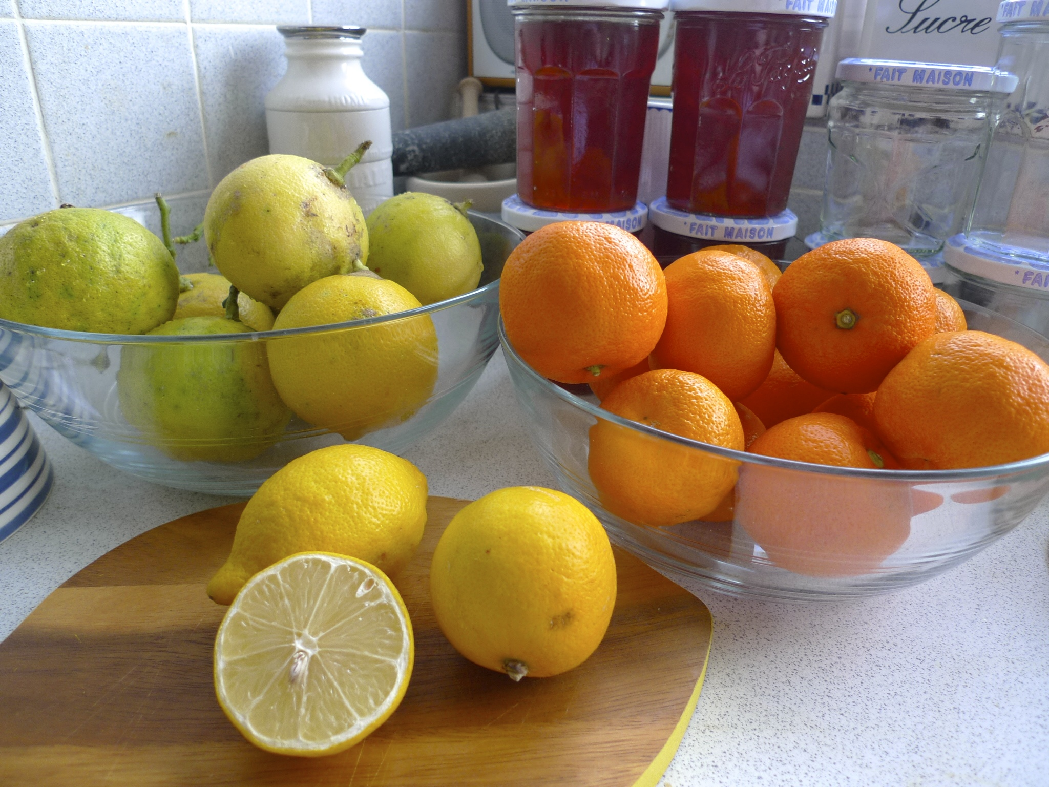Fruit for making marmalade