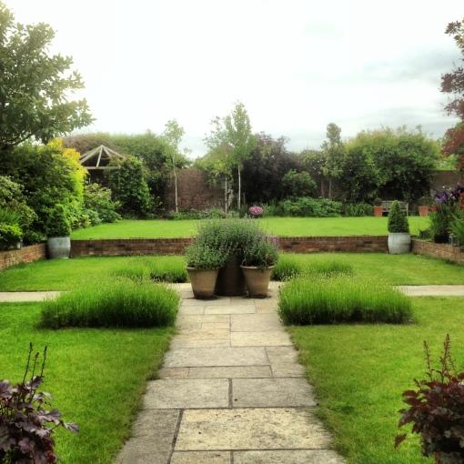 Early summer garden