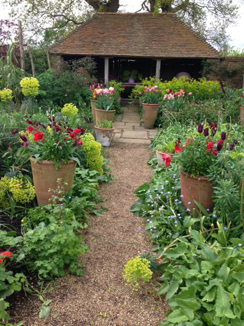 The Oast Garden at Perch Hill