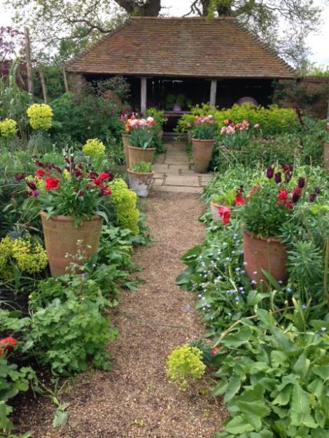 The Oast Garden at Perch Hill