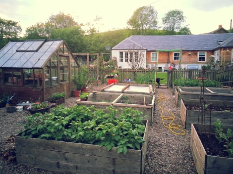 The Scottish Country Garden Raised Beds